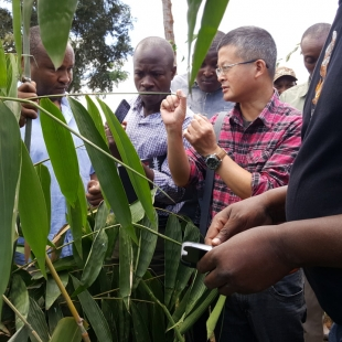 Visit from Chinese Bamboo Expert